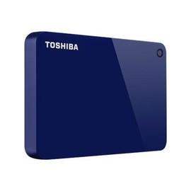 Toshiba Canvio Advance - Festplatte - 3 TB - extern (tragbar) - USB 3.0 - Glossy Piano Blue Produktbild