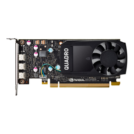 NVIDIA Quadro P400 - Grafikkarten - Quadro P400 - 2 GB GDDR5 - PCIe 3.0 x16 Low-Profile - 3 x Mini DisplayPort Produktbild