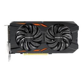 Gigabyte GeForce GTX 1050 Windforce 2G - Grafikkarten - NVIDIA GeForce GTX 1050 - 2 GB GDDR5 - PCIe 3.0 x16 - DVI, Produktbild