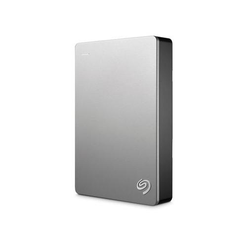 Seagate Backup Plus STDR5000201 - Festplatte - 5 TB - extern (tragbar) - USB 3.0 - Silber Produktbild Additional View 1 L