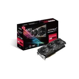 ASUS AREZ-STRIX-RX580-O8G-GAMING - OC Edition - Grafikkarten - Radeon RX 580 - 8 GB GDDR5 - PCIe 3.0 x16 Produktbild