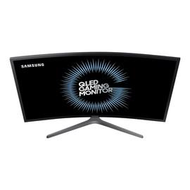 "Samsung CHG7 Series C27HG70QQU - QLED monitor - gebogen - 68.6 cm (27"") (26.9"" sichtbar) - 2560 x 1440 Ultra WQHD - VA Produktbild"