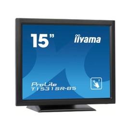 "Iiyama ProLite T1531SR-B5 - LED-Monitor - 38 cm (15"") - Touchscreen - 1024 x 768 - TN Produktbild"