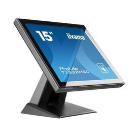 "Iiyama ProLite T1532MSC-B5X - LED-Monitor - 38 cm (15"") (15"" sichtbar) - Touchscreen - 1024 x 768 XGA - TN Produktbild"