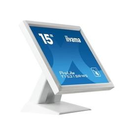 "Iiyama ProLite T1531SR-W5 - LED-Monitor - 38 cm (15"") - Touchscreen - 1024 x 768 - TN Produktbild"