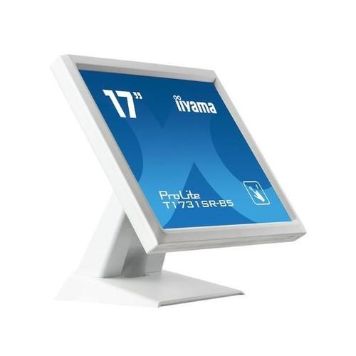 "Iiyama ProLite T1731SR-W5 - LED-Monitor - 43 cm (17"") - Touchscreen - 1280 x 1024 - TN Produktbild Additional View 1 L"