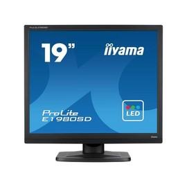 "Iiyama ProLite E1980SD-B1 - LED-Monitor - 48.3 cm (19"") - 1280 x 1024 - TN - 250 cd/m² Produktbild"