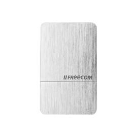 Freecom mSSD MAXX - Solid-State-Disk - 512 GB - extern (tragbar) - USB 3.1 Gen 2 - Brushed Aluminum Produktbild