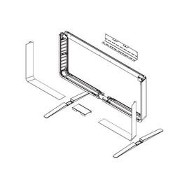 Cisco Floor Stand Kit - Befestigungskit (Füße, Sicherheitswandhalterung, Bodenständer, Befestigungsteile) Produktbild