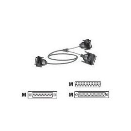 Polycom - Serielles RS-449- / RS-366-Kabel - HD-44 (M) bis DB-25, DB-37 (M) - 1.7 m Produktbild