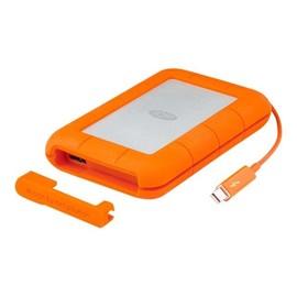 LaCie Rugged Thunderbolt - Solid-State-Disk - 1 TB - extern (tragbar) - USB 3.1 Gen 2 / Thunderbolt Produktbild