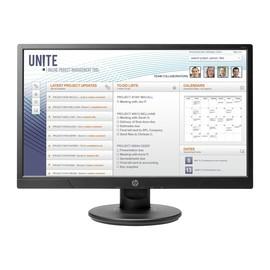 "HP V214a - LED-Monitor - 52.58 cm (20.7"") (20.7"" sichtbar) - 1920 x 1080 Full HD (1080p) - TN - 200 cd/m² Produktbild"