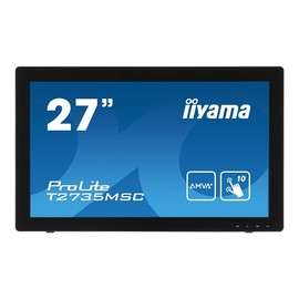 "Iiyama ProLite T2735MSC-B2 - LED-Monitor - 68.6 cm (27"") (27"" sichtbar) - 1920 x 1080 Full HD (1080p) Produktbild"