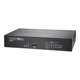 SonicWall TZ400 - Sicherheitsgerät - mit 1 Jahr TotalSecure - 7 Anschlüsse - GigE Produktbild