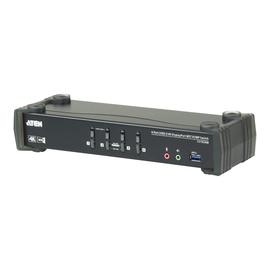 ATEN CS1924M KVMP Switch - KVM-/Audio-/USB-Switch - 4 x KVM/Audio/USB - 1 lokaler Benutzer - Produktbild