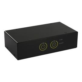 InLine - KVM-/Audio-/USB-Switch - 2 x KVM/Audio/USB - 1 lokaler Benutzer - Desktop Produktbild