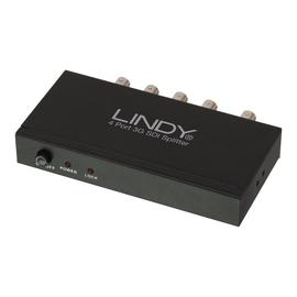 Lindy 4 Port 3G SDI Splitter - Video-Verteiler - 4 x 3G-SDI - Desktop Produktbild