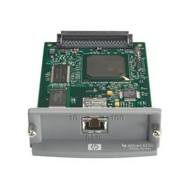 HP JetDirect 620n - Druckserver - EIO - 10/100 Ethernet - für Color LaserJet 85XX; DesignJet T1100; LaserJet Produktbild