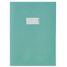 Heftumschlag A4 Recycling türkis Altpapier Herma 5527 Produktbild