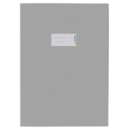 Heftumschlag A4 Recycling hellgrau Altpapier Herma 5528 Produktbild