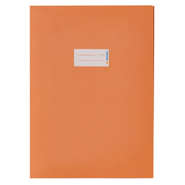 Heftumschlag A4 Recycling orange Altpapier Herma 5534 Produktbild