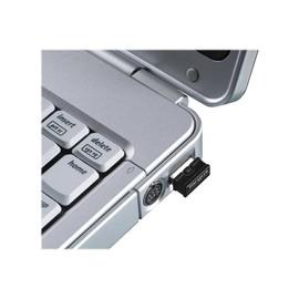 Targus Bluetooth 4.0 Micro USB Adapter for Laptops - Netzwerkadapter - USB - Bluetooth 4.0 - Schwarz Produktbild