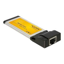 DeLock Express Card to Gigabit LAN - Netzwerkadapter - ExpressCard - Gigabit Ethernet Produktbild