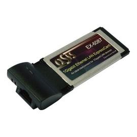 Exsys EX-6087 - Netzwerkadapter - ExpressCard - Gigabit Ethernet Produktbild