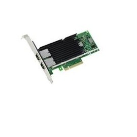 Intel X540 DP - Netzwerkadapter - PCI low profile - 10Gb Ethernet x 2 - für PowerEdge C6220, R320, R420, R520, R620, Produktbild