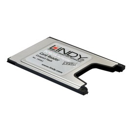 Lindy PCMCIA Compact Flash Adaptor Card - Kartenadapter (CF) - PC-Karte Produktbild