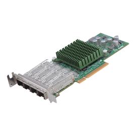 Supermicro Add-on Card AOC-STG-b4S - Netzwerkadapter - PCIe 3.0 x8 Low-Profile - 10 Gigabit SFP+ x 4 Produktbild