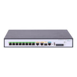 HPE FlexNetwork MSR958 - Router - 8-Port-Switch - GigE - WAN-Ports: 2 - an Rack montierbar Produktbild