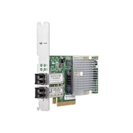 HPE - Netzwerkadapter - 10 Gigabit SFP+ x 2 - für HPE 3PAR StoreServ 8200, StoreServ 8200 2-node, StoreServ 84XX, Produktbild