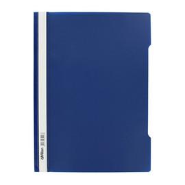 Schnellhefter Vorderdeckel transparent A4 dunkelblau Plastik - Neutral - 840/07 Produktbild