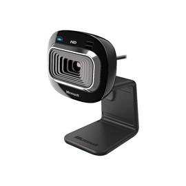 Microsoft LifeCam HD-3000 for Business - Web-Kamera - Farbe - 1280 x 720 - Audio - USB 2.0 Produktbild