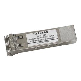 NETGEAR ProSafe AGM732F - SFP (Mini-GBIC)-Transceiver-Modul - GigE - 1000Base-LX - LC Einzelmodus - bis zu 10 Produktbild