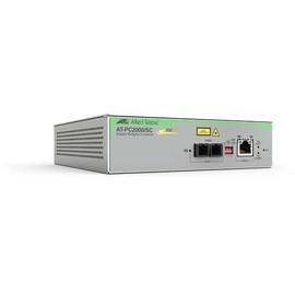 Allied Telesis AT-PC2000/SC - Medienkonverter - GigE - 10Base-T, 1000Base-SX, 100Base-TX, 1000Base-T, Produktbild