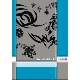 Arbeitsblock A4 liniert 50Blatt 80g holzfrei weiß Landré 100050446 Produktbild