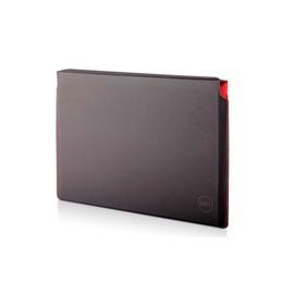 """Dell Premier Sleeve (M) - Notebook-Hülle - 38.1 cm (15"""") - Schwarz mit roten Akzenten - für Precision Produktbild"""