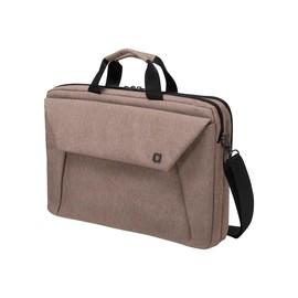 Dicota Slim Case Plus EDGE - Notebook-Tasche - 33.8 cm - Sandstone Produktbild