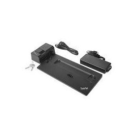 Lenovo ThinkPad Ultra Docking Station - Docking Station - VGA, HDMI, 2 x DP - 135 Watt - für ThinkPad A485; L480; Produktbild
