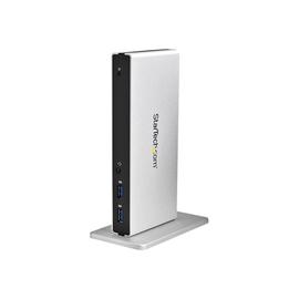 StarTech.com DVI Dual-Monitor Dockingstation für Laptops - HDMI und VGA Adapters - USB 3.0 - Universal Produktbild