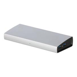 i-Tec USB 3.0 Metal Docking Station DVI-I HDMI - Docking Station - (USB) - GigE Produktbild