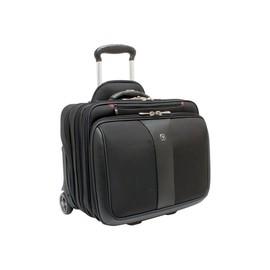 """Notebooktrolley mit Laptopfach 17"""" 43x41x31cm schwarz Polyester Wenger 600662 Produktbild"""