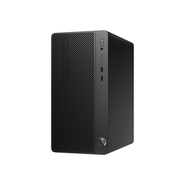 HP 290 G2 - Micro Tower - 1 x Core i3 8100 / 3.6 GHz - RAM 8 GB - HDD 1 TB - DVD-Writer Produktbild