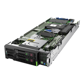 HPE ProLiant BL460c Gen9 - Server - Blade - zweiweg - 1 x Xeon E5-2609V4 / 1.7 GHz - RAM 16 GB Produktbild