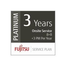 Fujitsu Assurance Program Platinum - Serviceerweiterung - Arbeitszeit und Ersatzteile - 3 Jahre - Vor-Ort - Produktbild
