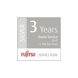 Fujitsu Assurance Program Silver - Serviceerweiterung - Arbeitszeit und Ersatzteile - 3 Jahre - Vor-Ort - Produktbild