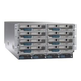 Cisco UCS 5108 Blade Server Chassis - Rack - einbaufähig - 6U - bis zu 8 Blades - ohne Netzteil Produktbild