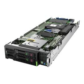 HPE ProLiant BL460c Gen9 - Server - Blade - zweiweg - 2 x Xeon E5-2660V4 / 2 GHz - RAM 128 GB Produktbild